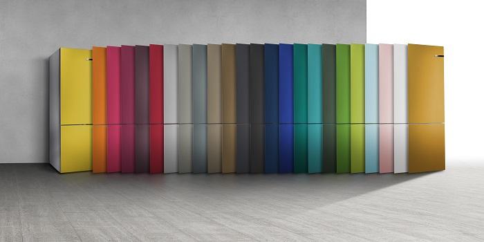 bosch vario style k hlschrank neue farbvarianten news dg. Black Bedroom Furniture Sets. Home Design Ideas