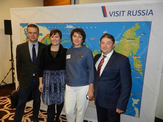 Visit Rusia Road Show Team