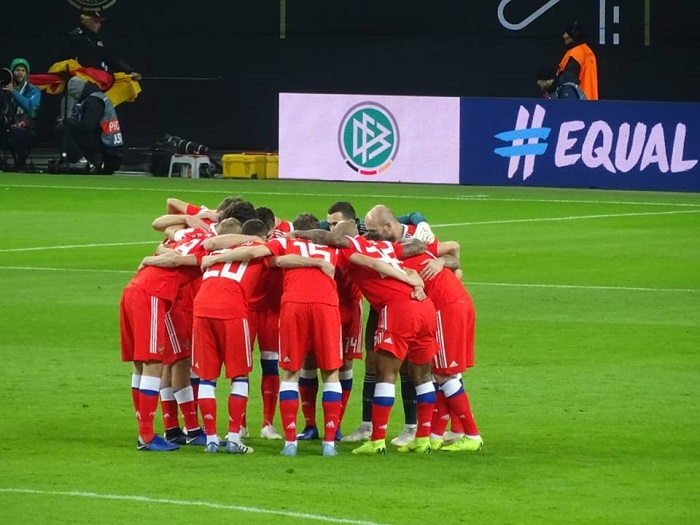 Fußball Deutschland Russland
